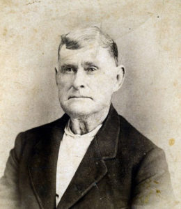 Richard Harrell (1813-1895), farmer and stockman, businessman and lay minister, donated land for the Harrell Campground in northwest Hunt County.  The campground was used for camp meetings in the summer.  Neighbors gathered from miles around to hear the Gospel preached and to socialize with friends seldom seen.